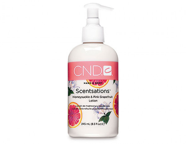 CND honeysuckle and pink grapefruit lotion 245ml