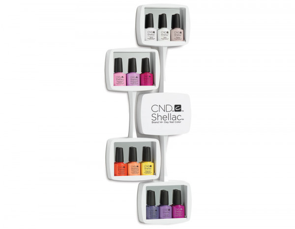 CND Shellac wall rack extension 2017