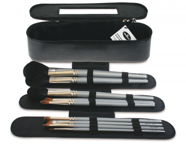 Denman professional make up brush set 10 brushes