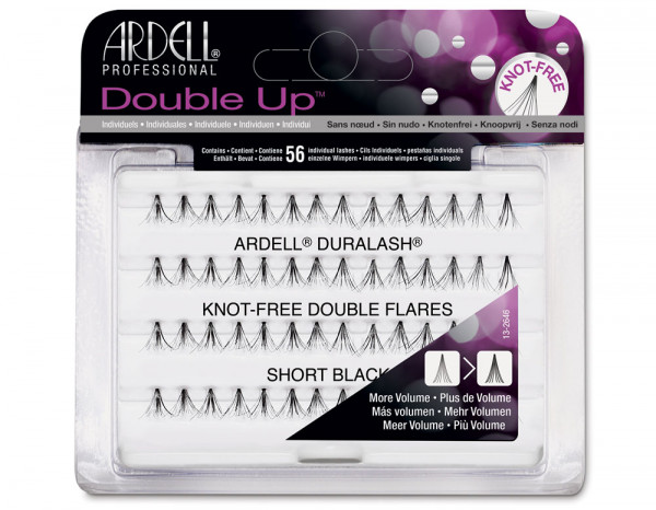 Ardell double individuals knot-free black, short
