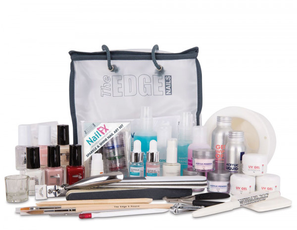 The Edge complete nail systems kit