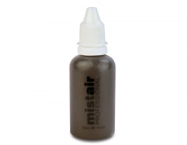 Mistair professional brow, deepest brown 30ml