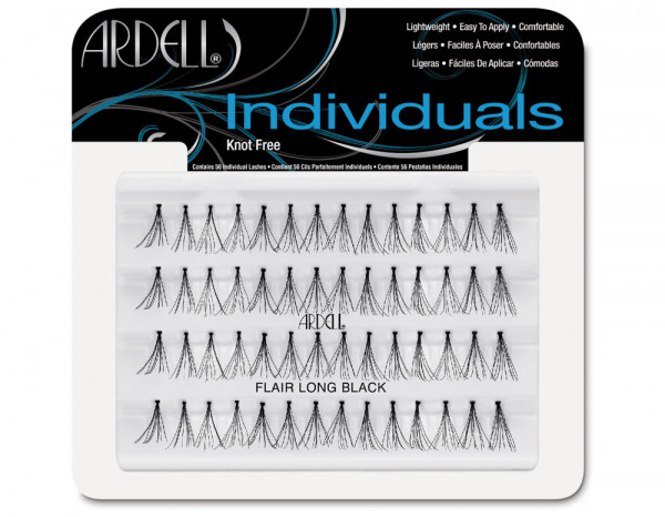 Ardell individual flare black, long