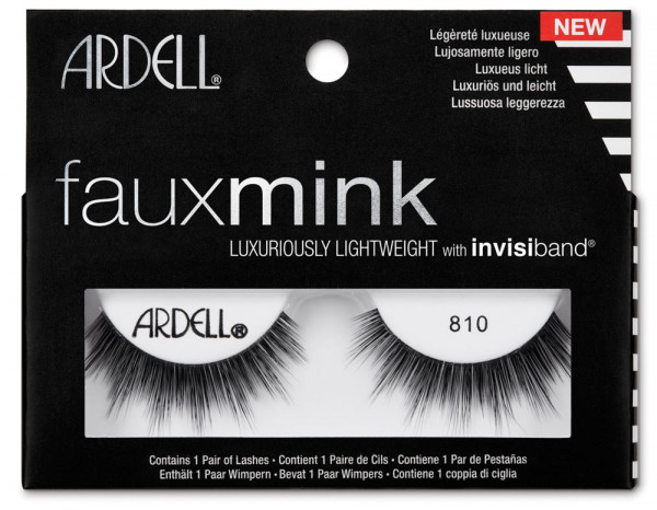 Ardell faux mink lashes, 810