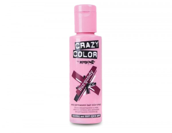 Crazy Color 100ml, 61 burgundy