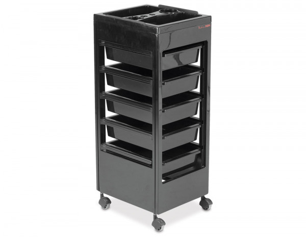 REM Studio trolley with accessory top tray