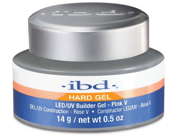 ibd LED/UV builder gel 14g, pink V