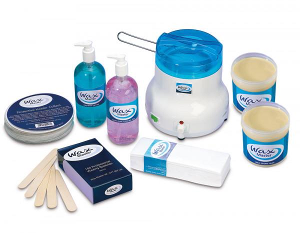 Wax Master starter kit, silk crème wax