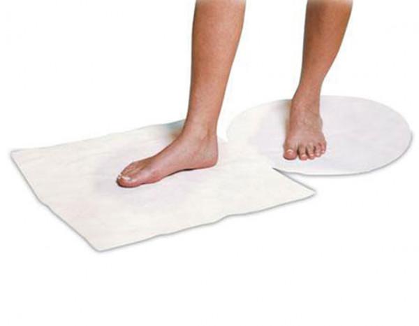Beauty Essentials disposable foot mat (100)
