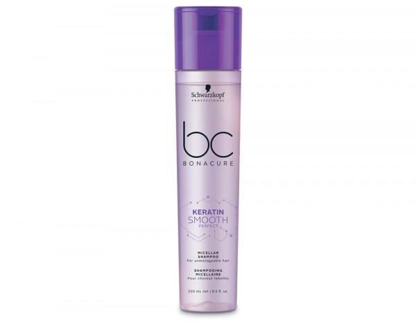 BC keratin perfect smooth micellar shampoo 250ml
