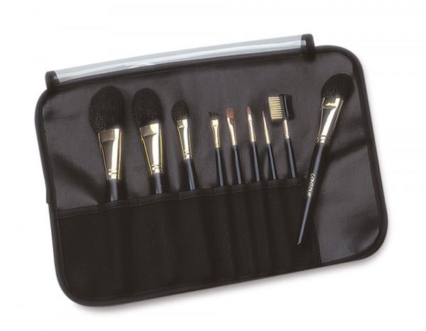 Deluxe brush kit, 9 brushes