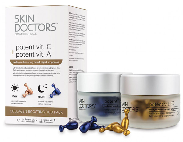 Skin Doctors potent ampoules duo pack (100)