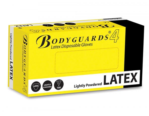 Latex gloves standard medium (100)