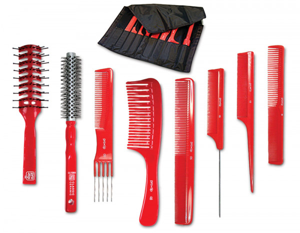 Pro-Tip comb and brush wallet
