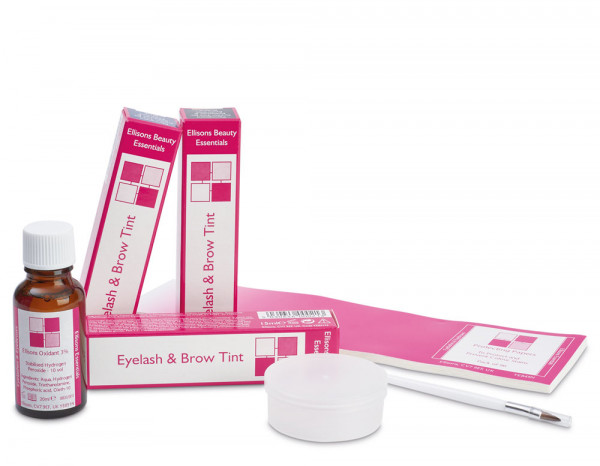 Beauty Essentials eyelash tint student kit