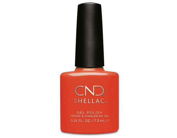 CND Shellac 7.3ml, Electric Orange