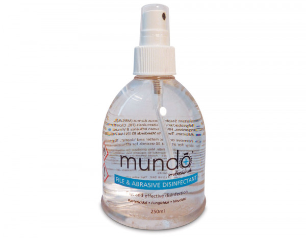 Mundo file and tool disinfectant spray 250ml