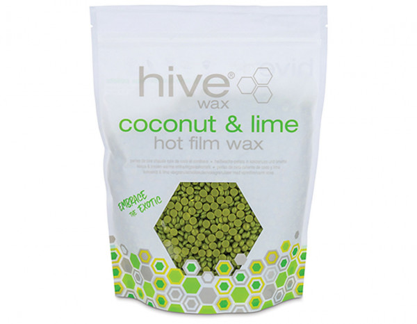 Hive hot film wax pellets, coconut and lime 700g