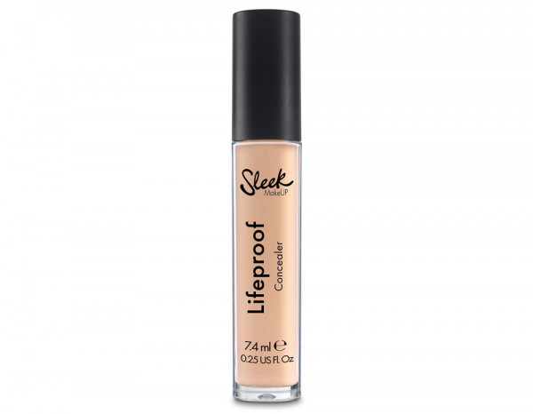 Sleek lifeproof concealer 7.4ml, flat white