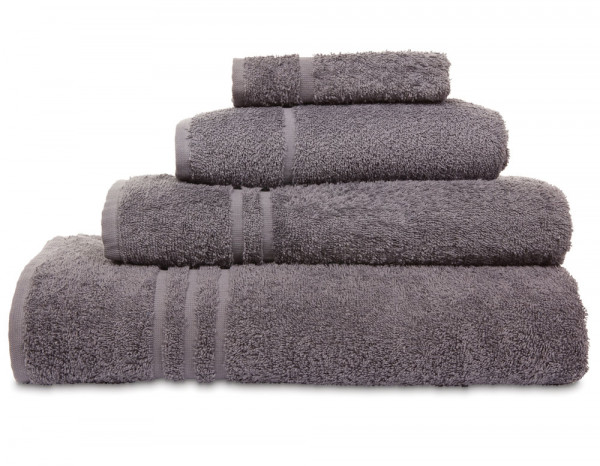 Comfy bath sheet, slate grey