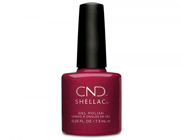 CND Shellac 7.3ml, Red Baroness