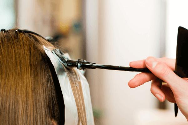 Hair-foiling-technique