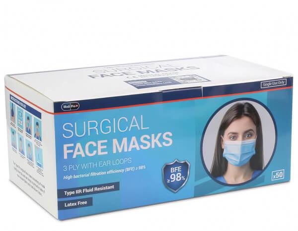 Medipro type IIR face mask (50)