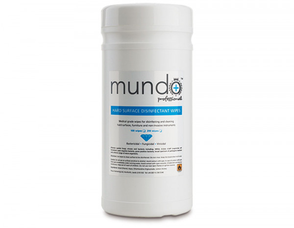 Mundo surface disinfectant wipes (200)