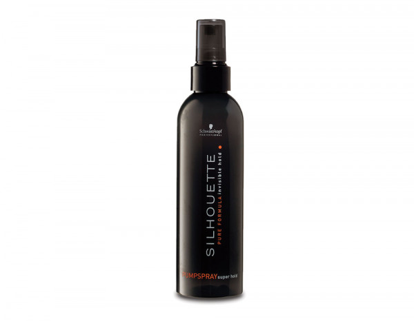 Silhouette super hold pump spray 200ml/7fl.oz