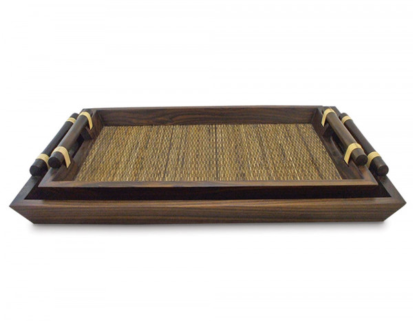 Wooden ritual trays