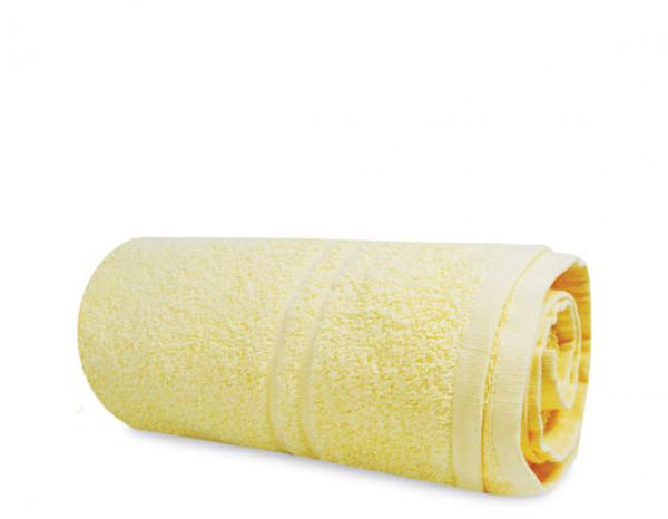 Luxury hand towel, yellow