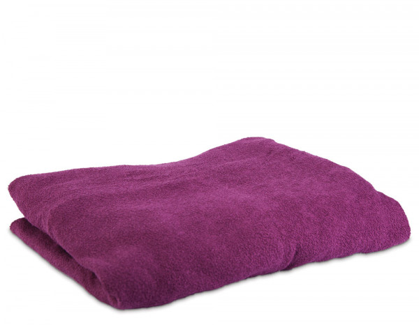 Aztex couch cover without facehole, aubergine