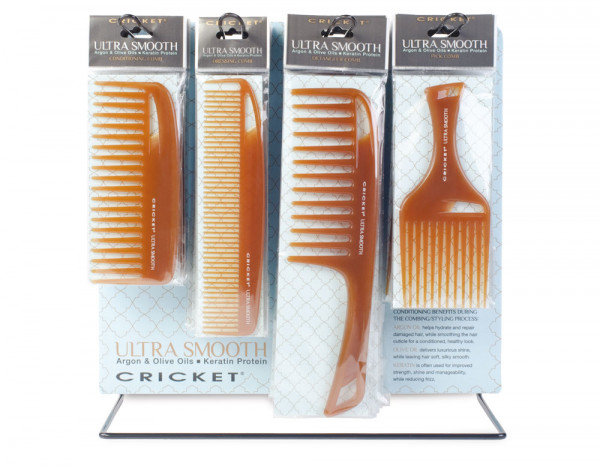 Cricket Ultra Smooth comb display unit (24 piece)