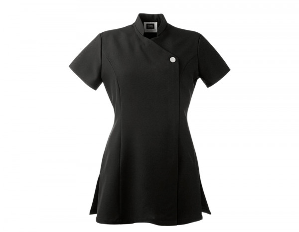 One button tunic, black size 16