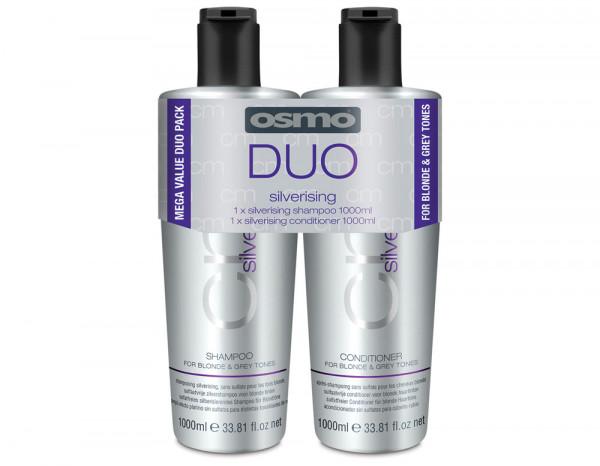 OSMO silverising 1L shampoo & conditioner duo