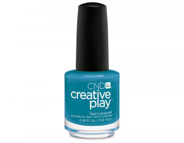 CND Creative Play 13.6ml, Teal The Wee Hours