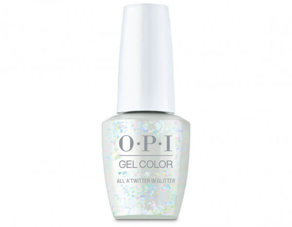 OPI GelColor 15ml, All A'twitter in Glitter
