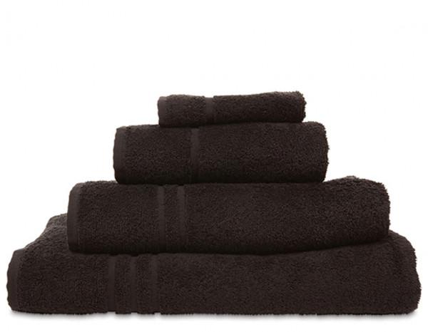 Comfy hand towel, black