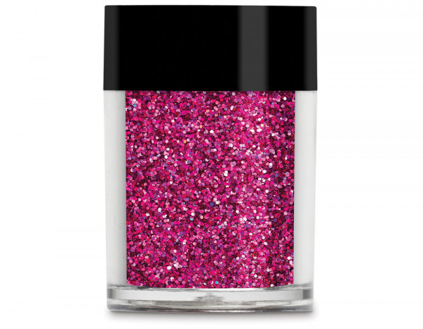 Lecente glitter holographic 8g, Darkest Pink