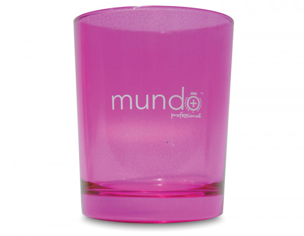 Mundo disinfectant jar small pink 65mm