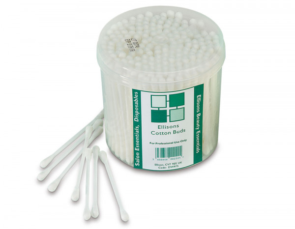 Beauty Essentials cotton buds, paper stem (200)