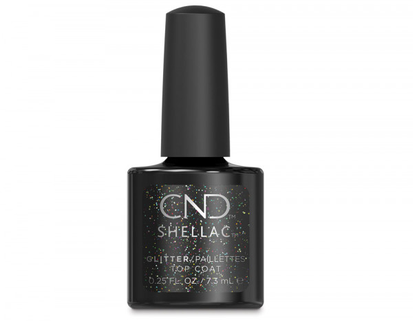 CND Shellac 7.3ml, glitter top coat