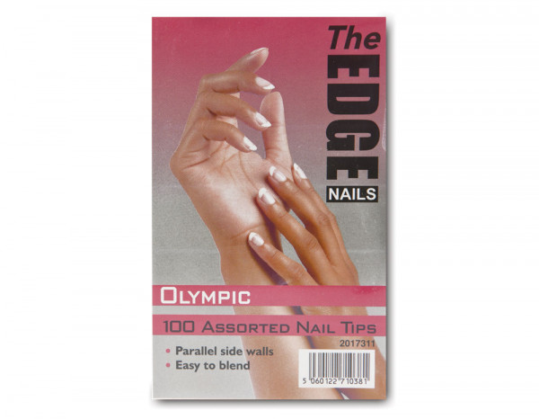 The Edge olympic tips, assorted (100)