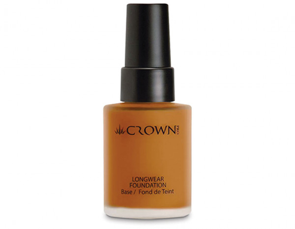 Crownbrush longwear foundation, PFK34-5 tan
