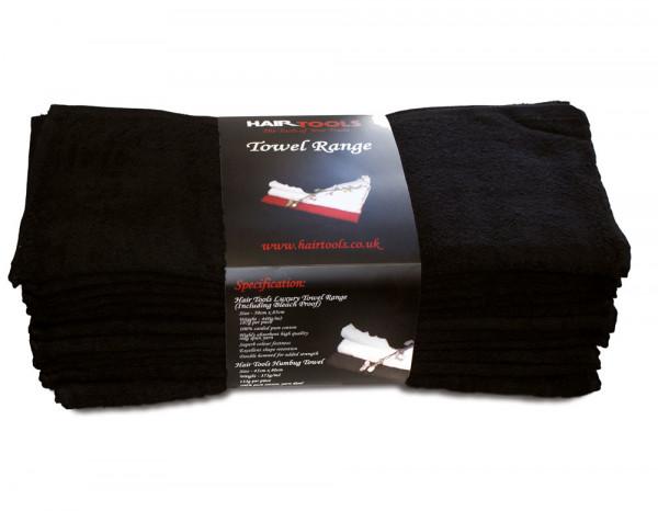 Hair Tools towels bleach resistant black (12)