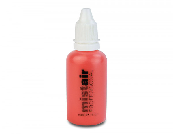 Mistair professional blusher, deep coral 30ml