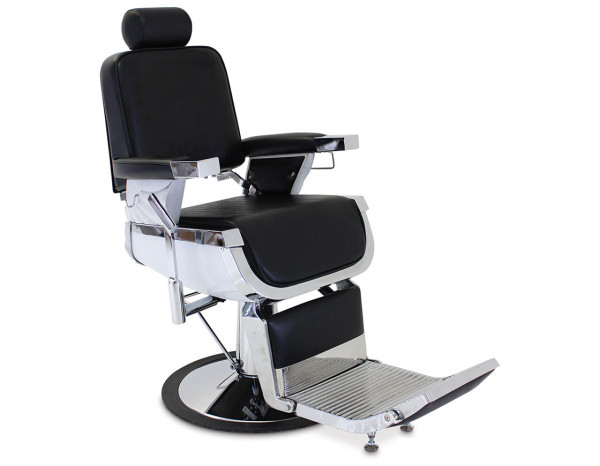 REM Emperor classic barber chair, black