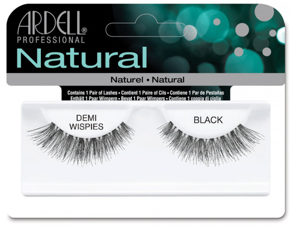Ardell natural lashes black, demi wispies