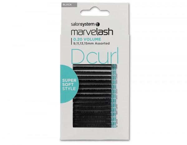 D Curl 0.20 Volume, assorted 9,11,13,15mm (Super S