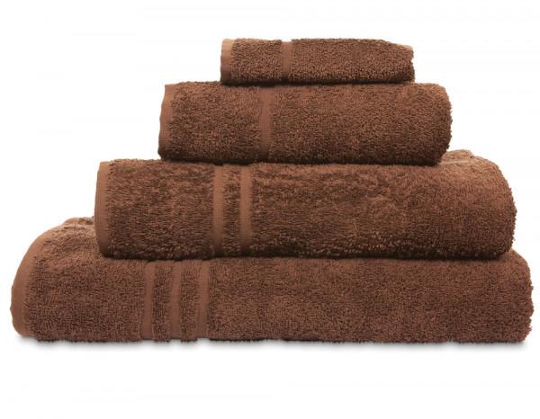 Comfy bath towel, brown